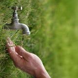 L'eau et la vie Image libre de droits