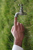 L'eau et la vie Image stock