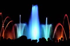 L'eau et lumière Images libres de droits