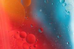 L'eau et pétrole de mélange Photo libre de droits