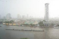 L'eau et pluie Images stock