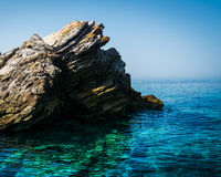 L'eau et roche Images stock