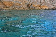 L'eau et roches Image libre de droits