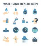 L'eau et santé illustration stock