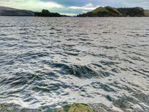 L'eau et Sentani image stock