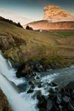 L'eau et volcan Photo libre de droits