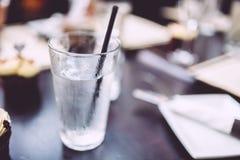 L'eau glacée Photos libres de droits