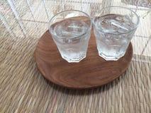 L'eau glacée Photographie stock libre de droits