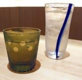 L'eau glacée Photographie stock