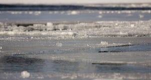 L'eau glaciale Photographie stock