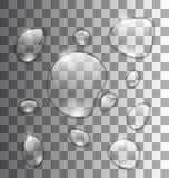 L'eau Grey Background abstrait Images stock