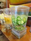L'eau infusée Image stock