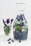 L'eau infusée Photo stock