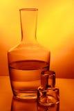 L'eau jaune Photographie stock libre de droits