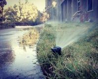 L'eau ! La force d'entraînement de toute la nature Image libre de droits