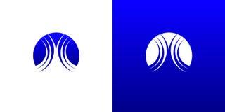 L'eau Logo Symbol Template de vague Image libre de droits