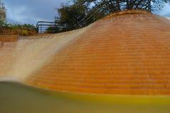 L'eau montante en cascade Photo libre de droits