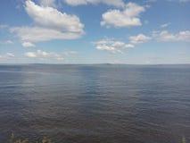 L'eau, nature, coulant, dehors, bleu, vague, surface, liquide, ondulation, brillante photographie stock libre de droits