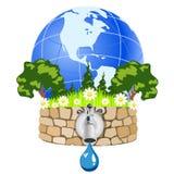 L'eau normale pure illustration libre de droits
