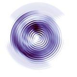L'eau ondulée illustration stock