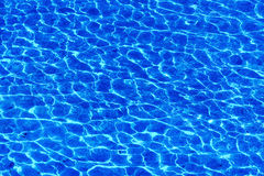L'eau ondule des textures Photographie stock libre de droits