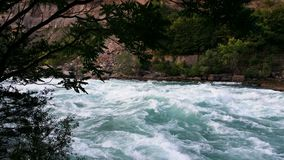 L'eau orageuse Photo libre de droits