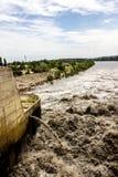 L'eau orageuse Photo stock