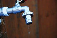 l'eau potable de grue photographie stock