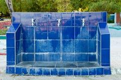 L'eau potable publique tape les Maldives Image libre de droits