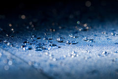 L'eau propre relâche l'instruction-macro photographie stock libre de droits