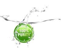 L'eau pure Image libre de droits
