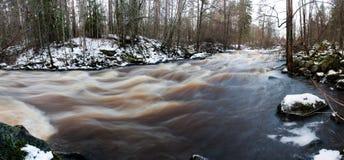 L'eau rapide Images libres de droits