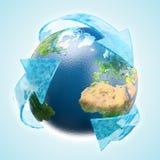 L'eau renouvelable Image libre de droits