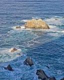 L'eau rocheuse Photos libres de droits