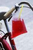 L'eau rouge Photographie stock