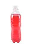 l'eau rouge dans la bouteille Images libres de droits