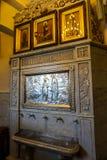 L'eau sainte de cathédrale de Saint-Esprit de Minsk image libre de droits