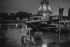 L'eau sous de París Fotografía de archivo libre de regalías