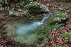 L'eau soyeuse Images stock