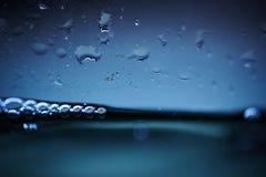 L'eau sur la glace Photos stock