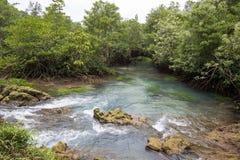 L'eau vert d'émeraude chez Tha Pom Khlong Song Nam Images stock