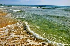 L'eau verte Images libres de droits