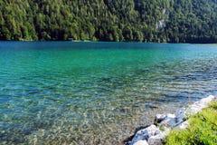 L'eau verte Image stock