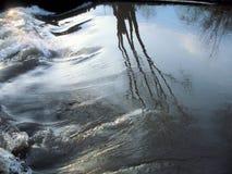 L'eau vivante le ressort image libre de droits