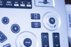 L'ecography EPI d'ultrason sèchent des taquineries Photographie stock