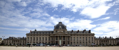 L'Ecole Militaire by Day Royalty Free Stock Images