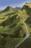 l'Ecosse. île de skye. Photos libres de droits
