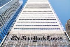 L'edificio del New York Times Fotografie Stock Libere da Diritti