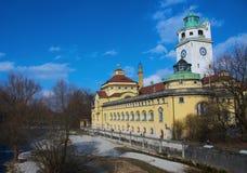 L'edificio di Müllersches Volksbad, Monaco di Baviera Immagini Stock