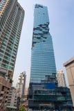 L'edificio di MahaNakhon a Bangkok, Tailandia, ora è la costruzione più alta in Tailandia 314 Mt Immagini Stock